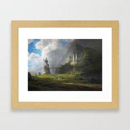 Ventus Castle Framed Art Print