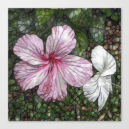 Fabulous hibiscus Canvas Print