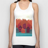 mountains Tank Tops featuring Mountains by Kakel