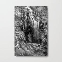 Gentle Cascade Metal Print