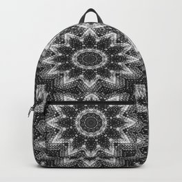 Black and white relaxation Backpack