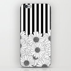 Daisy Stripe iPhone & iPod Skin