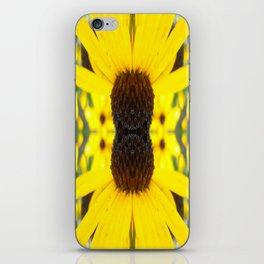 Trippy Sunflower iPhone Skin