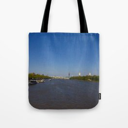 The River Thames, London Tote Bag