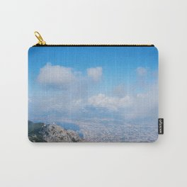 Landscape on Napoli between clouds Carry-All Pouch