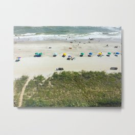 happy beach Metal Print