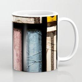Abstract Window Geometric Contemporary Art Glass Coffee Mug