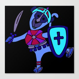 © Litte Monkey wears Full Armor of God Canvas Print