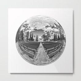 Circular Fisheye #2 Metal Print