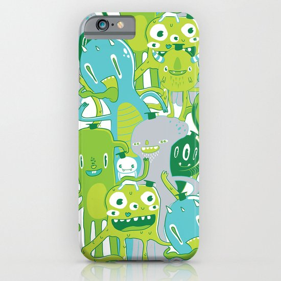 Done with Monster School! iPhone & iPod Case