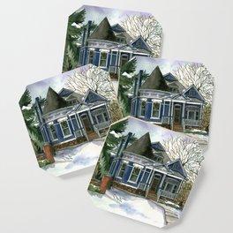 Winter Blues Coaster