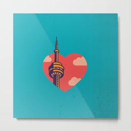 Toronto Love Metal Print