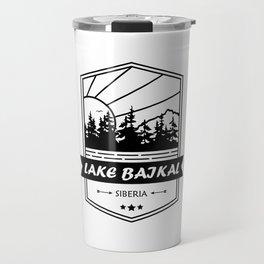 Lake Baikal Travel Mug