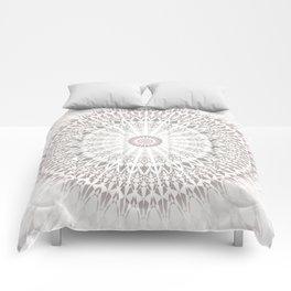 Taupe Mandala Comforters