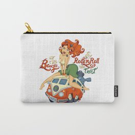 In Boogie and Rockn'roll we trust Carry-All Pouch