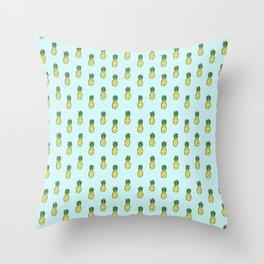 Pineapples 3.0 Throw Pillow