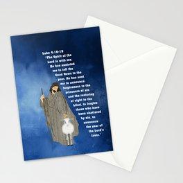 Jesus of Nazareth the Good Shepherd Stationery Cards