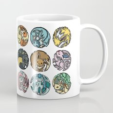 Circle of Eevees Coffee Mug