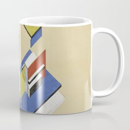 Theo van Doesburg - Contra-Construction Project (Axonometric) - Abstract De Stijl Painting Coffee Mug