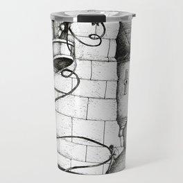 Dark haired princess Travel Mug