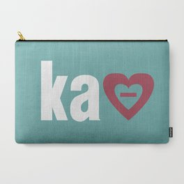 New! KAΘ Carry-All Pouch