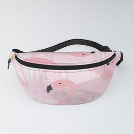 Flamingo Pattern Fanny Pack