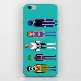 Teenage Superheroes iPhone Skin