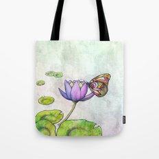 Serene Bloom Tote Bag
