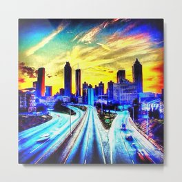 Good Morning Atlanta Metal Print