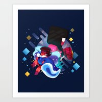 Made of Love Art Print