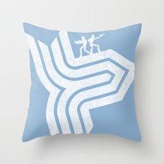 Rolling Thunder Throw Pillow