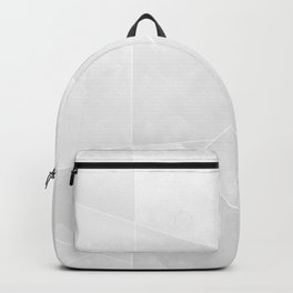 Grey Geometry Backpack