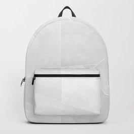 Grey Geometry Backpack