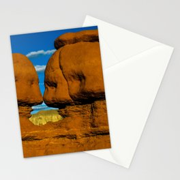Twin Hoodoo's - Goblin Valley State Park, Utah Stationery Cards