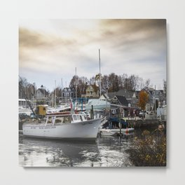 Kennebunkport Habor  Metal Print