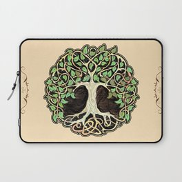 Celtic tree of life Laptop Sleeve