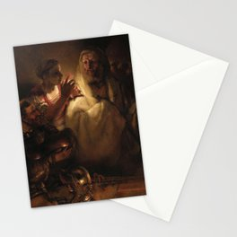 The Denial of Saint Peter Stationery Cards