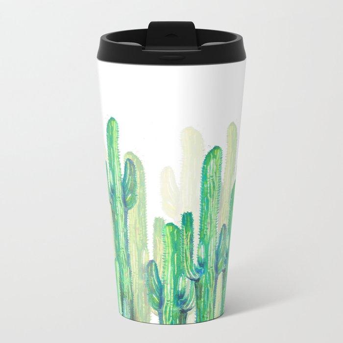 "cactus 4 new version""! Metal Travel Mug"