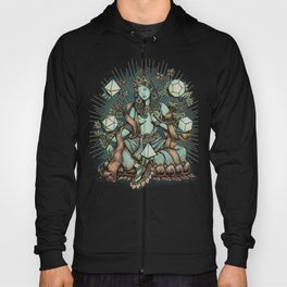 Sacred Geometry Mother - muted colors Hoody