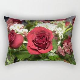 Valentine's Day Roses 1 Rectangular Pillow
