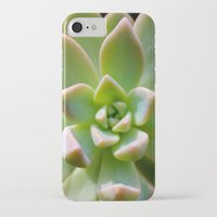 succulent iPhone & iPod Cases featuring Succulent by Wandering Star Trails
