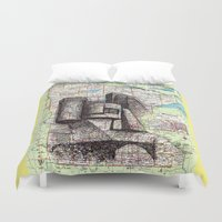 minnesota Duvet Covers featuring Minnesota by Ursula Rodgers