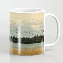 Birds by the Dessower Sea in Mecklenburg Vorpommern East Germany Coffee Mug