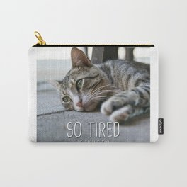Cat - So tired of loving you Carry-All Pouch