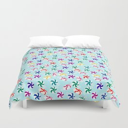 Holiday Mints Duvet Cover