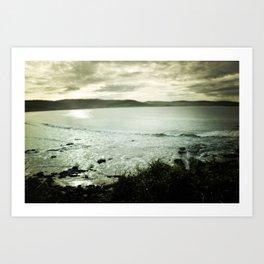 Moody Bay Art Print