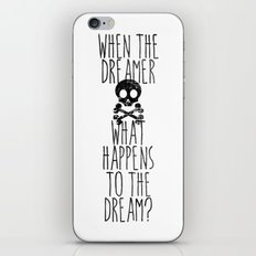 The end of dreams iPhone & iPod Skin