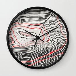 Contour 3 Wall Clock