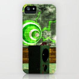 Street Art Digital iPhone Case