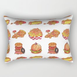 Fast Food Collection Rectangular Pillow